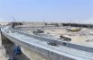 MEP works in progress at Al Qudra-Lehbab Roads Intersection