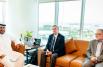 Empower CEO Ahmad Bin Shafar welcomes president of ASHRAE