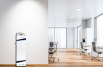 Contained UVC technology enables air sterilization in indoor spaces while people are present
