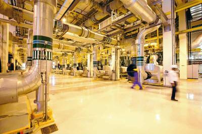 Site Visit: Bahrain Bay district cooling plant