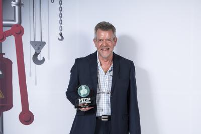 MEP Awards 2017: Roger Vincer is Plumbing Engineer of the Year