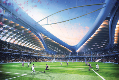 Cooling tech fitted for Qatar 2022 FIFA World Cup