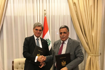Siemens signs MoU to add 11GW of power generation capacity in Iraq