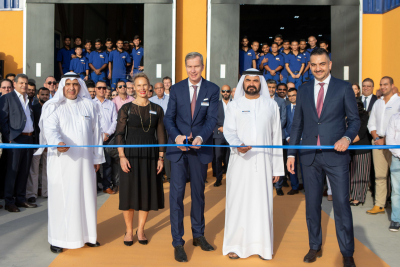 Hormann opens new production line in JAFZA, Dubai