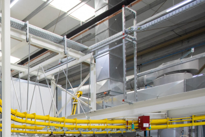 Hormann's JAFZA factory starts production of steel fire-rated hinged doors