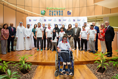 Masdar and FAB support energy-saving project for Future Rehabilitation Centre