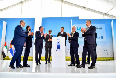 Masdar leads inauguration ceremony for largest utility-scale commercial wind project in Serbia
