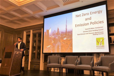 Emirates Green Building Council chief says UAE on defined path to sustainable development