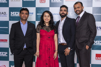 MEP Middle East Awards: Picture Gallery Part 3 - Media Wall