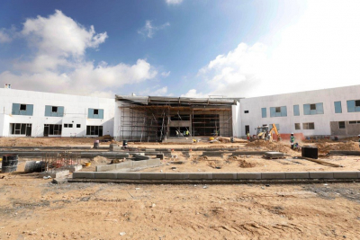Construction of Jebel Hafeet School in Al Ain 58% complete