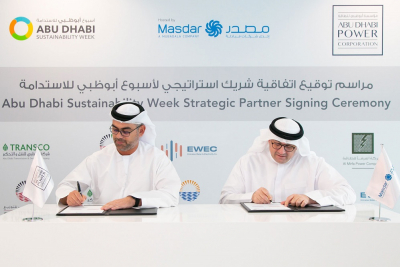 Abu Dhabi Water & Electricity companies announce strategic partners for Abu Dhabi Sustainability Week