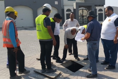 Karawan Company and Electrical and Mechanical Services completes $1.27million rainwater drainage network