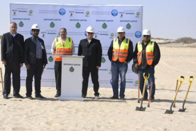 Start of construction at the Dammam west ISTP project site marks next stage of development for this benchmark project