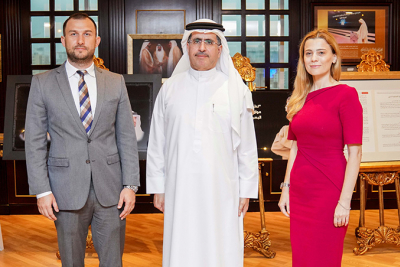 HE Saeed Mohammed Al Tayer receives Romanian Consul General in Dubai