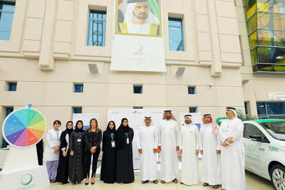 DEWA participates in a Health, Safety and Environment event organised by Zayed University in Dubai
