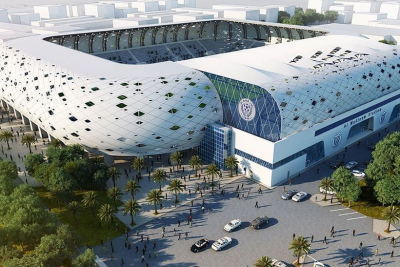 UAE football venue is in the running to win a top prize