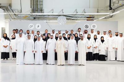 Mohammed bin Rashid inaugurates DEWA's R&D Centre at Solar Park