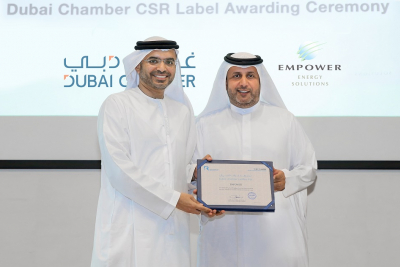 Empower has received the Dubai Chamber Advanced CSR Label for the second time