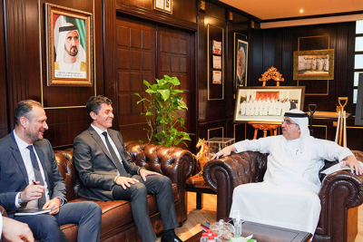 DEWA receives president of European multinational software corporation SAP