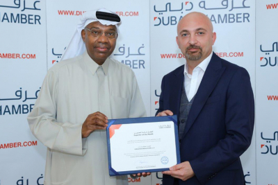 Kingspan Insulation wins Dubai Chamber of Commerce & Industry's Exporter of the Month award