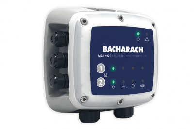 Bacharach Introduces MGS-402 Dual-Channel Gas Detection Controller