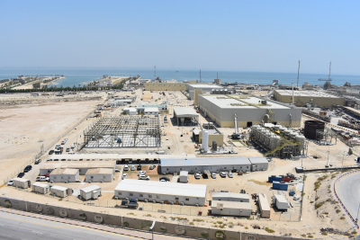 ACCIONA produces first cubic metre of water at Al-Khobar desalination plant in KSA