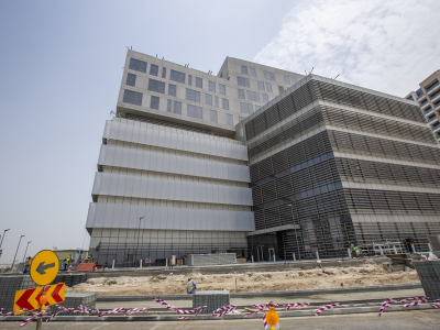 In pictures: Arabian Construction Company's Clemenceau Medical Centre