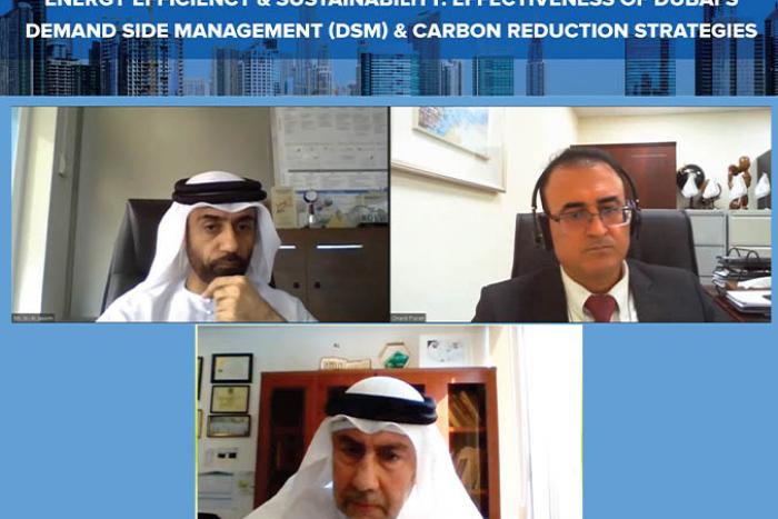 Dubai Supreme Council of Energy & Etihad ESCO conduct online webinar on energy sustainability