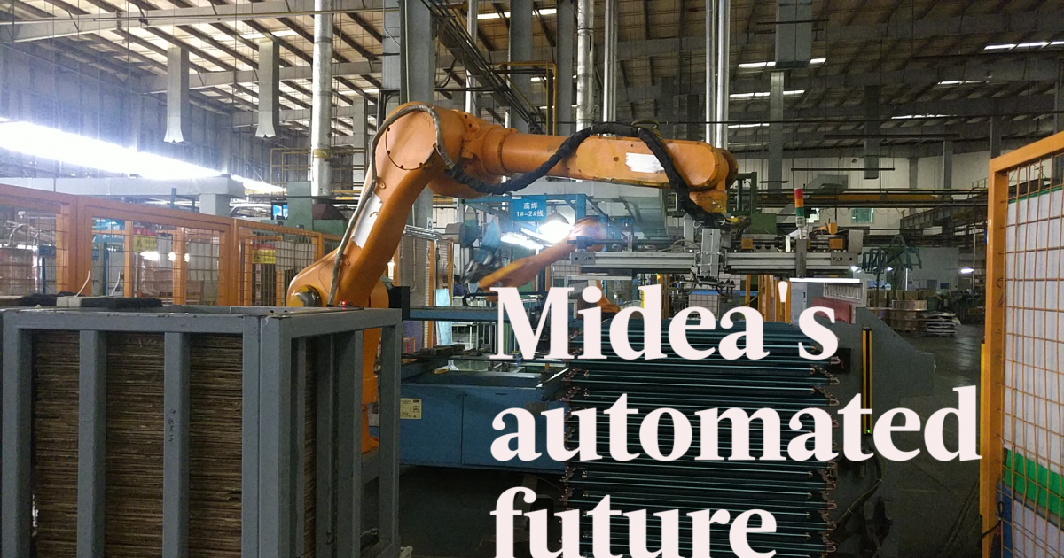 Midea's automated future