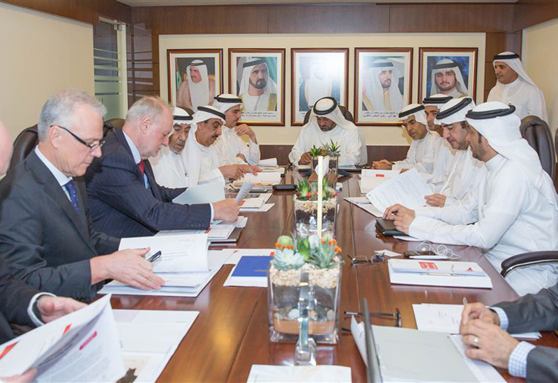 The Dubai Supreme Council of Energy reviewed the rating system during its 46th meeting [image: Dubai Government Media Office].