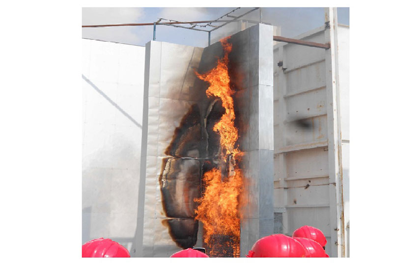 Fire testing is critical, Schnider says [representational image].