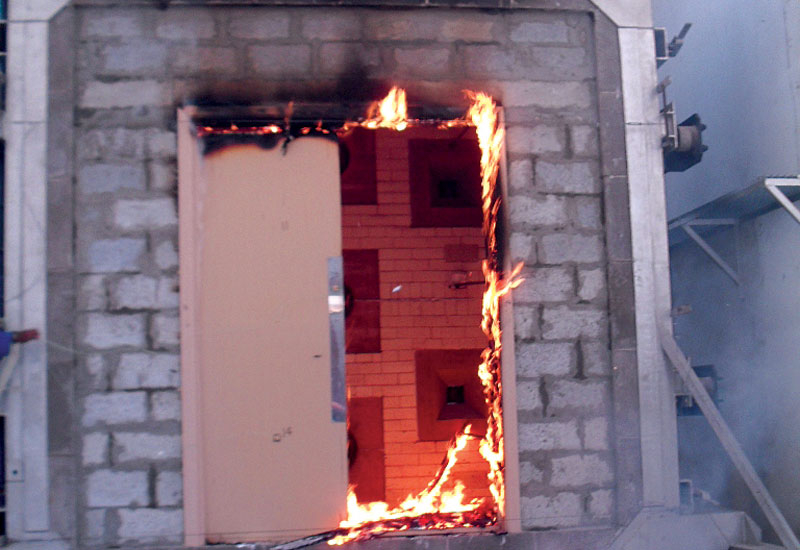 Only in exceptional cases are external faades fire-rated [representational image].