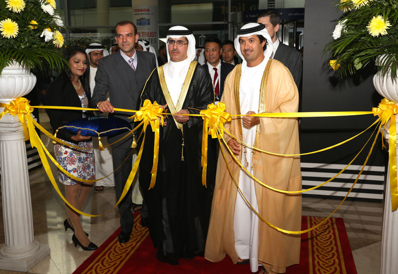 Light Middle East 2015 was officially opened by DEWA MD and CEO, Saeed Mohammed Al Tayer (above).