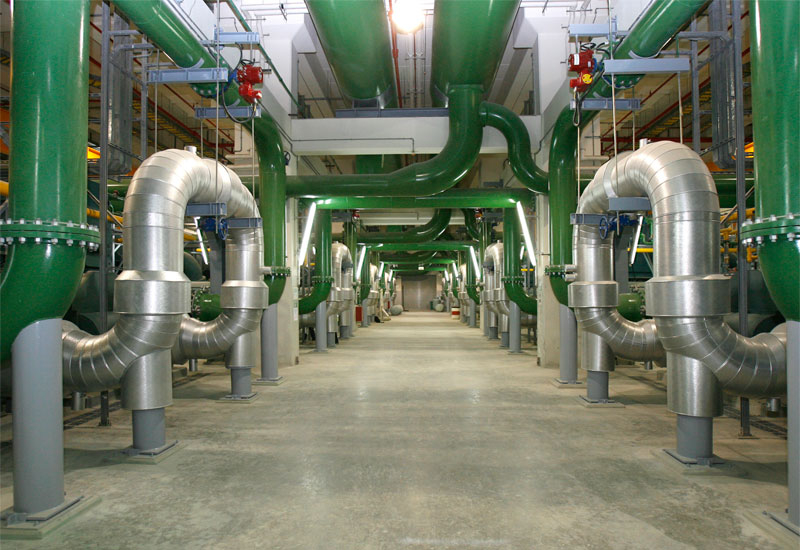 The fibre optic networks will reduce chilled water consumption at Empower's district cooling plants