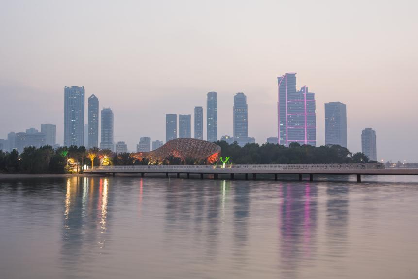 Sharjah skyline.