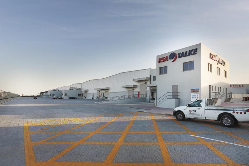 RSA Talke has installed a fourth solar power plany as its Dubai South facility.