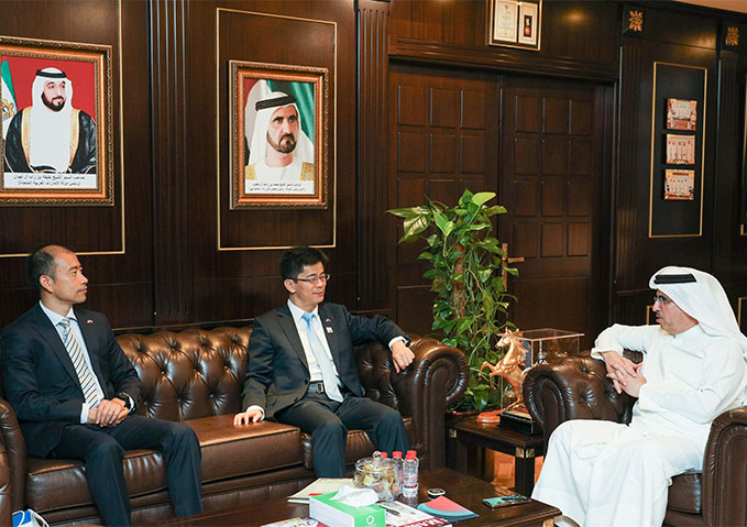 HE Saeed Mohammed Al Tayer emphasised the depth of UAE-China relations during a meeting with HE Li Xuhang.
