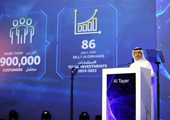 DEWA has made investments of over $23billion for the next five years to meet the growing demand for electricity and water in the Emirate.