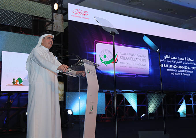 Al Tayer noted that the first Solar Decathlon Middle East achieved remarkable success.