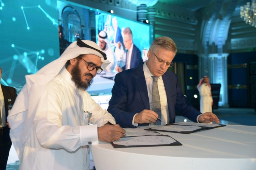 The announcement was made at an official ceremony held at the Saudi Arabia Smart Grid in the presence of Dr Khalid bin Saleh bin Abdullah Al-Sultan, chairman of King Abdullah City for atomic and renewable energy.