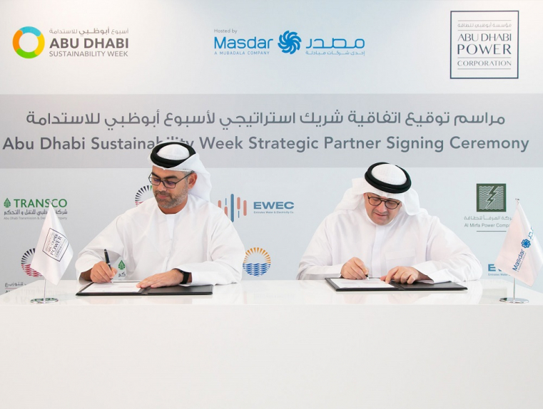 Abu Dhabi Sustainability Week will run from January 11 to 18 at the Abu Dhabi Exhibition Centre.