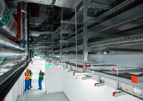 The expansion – comprising two new modular data centres approximately 17,166m2 in size – has delivered an additional IT load of 7.5MW at each facility.