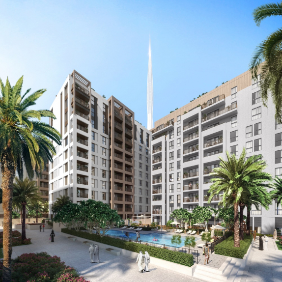 Emaar is currently carrying out a phased rollout of residential clusters to market.