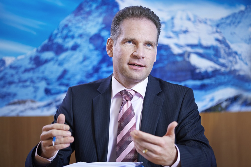 CEO of Condair Group Oliver Zimmermann.