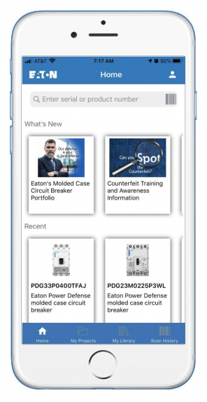 Eaton, Power management, Mobile app