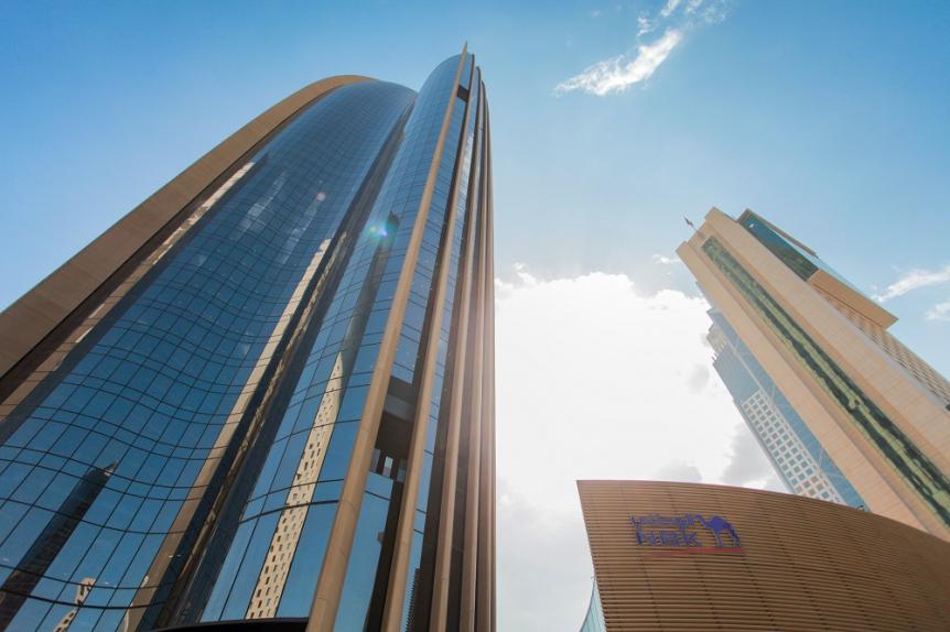 MEP and HVAC, SSH, Kuwait City, National Bank of Kuwait, LEED Gold Certification, BuroHappold Engineering