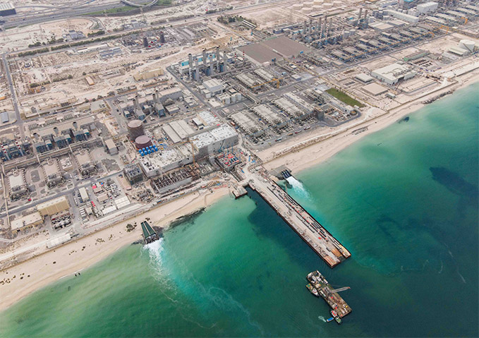 Jebel Ali, Dewa, Desalination